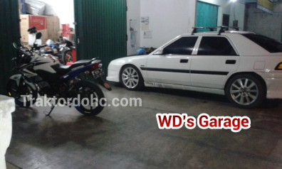 didepan WD's Garage, Wates, Kulon Progo, Yogyakarta