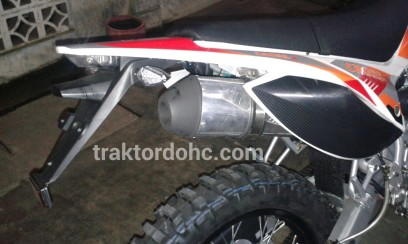 exhaust viar cross-x 200 se