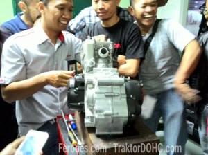 Pengarahan tentang mesin DOHC